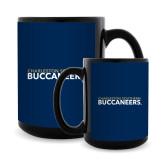 Full Color Black Mug 15oz-Charleston Southern Buccaneers