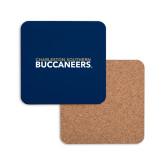 Hardboard Coaster w/Cork Backing-Charleston Southern Buccaneers