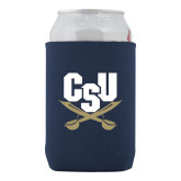 Collapsible Navy Can Holder-Primary Athletic Mark