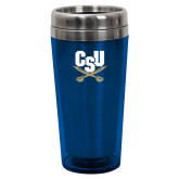 Solano Acrylic Blue Tumbler 16oz-Primary Athletic Mark