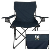 Deluxe Navy Captains Chair-Primary Athletic Mark