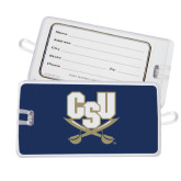 Luggage Tag-CSU-Swords Logo