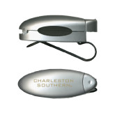 Silver Bullet Clip Sunglass Holder-Charleston Southern Stacked