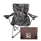Hunt Valley Camo Captains Chair-CSU-Swords Logo
