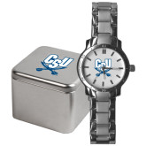 Mens Stainless Steel Fashion Watch-CSU-Swords Logo