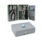 Compact 26 Piece Deluxe Tool Kit-CSU-Swords Logo
