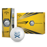 Nike Power Distance Golf Balls 12/pkg-CSU-Swords Logo