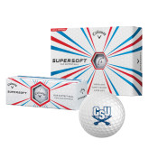 Callaway Supersoft Golf Balls 12/pkg-CSU-Swords Logo