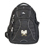 High Sierra Swerve Compu Backpack-CSU-Swords Logo