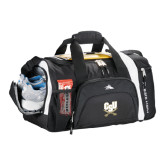High Sierra Black 22 Inch Garrett Sport Duffel-CSU-Swords Logo