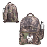 Heritage Supply Camo Computer Backpack-Primary Athletic Mark