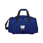 Challenger Team Navy Sport Bag-CSU-Swords Logo