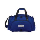 Challenger Team Navy Sport Bag-CSU Arched