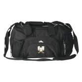High Sierra Black Switch Blade Duffel-CSU-Swords Logo