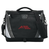 Slope Black/Grey Compu Messenger Bag-Official Logo - Stacked