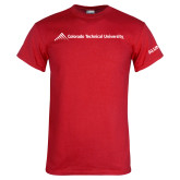 Red T Shirt-Official Logo - Flat