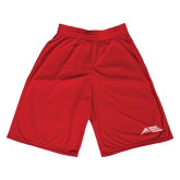 Performance Classic Red 9 Inch Short-Official Logo - Stacked