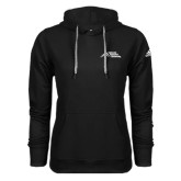 Adidas Climawarm Black Team Issue Hoodie-Official Logo - Stacked
