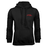 Black Fleece Hoodie-Official Logo - Stacked