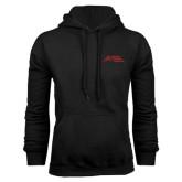 Black Fleece Hood-Official Logo - Stacked
