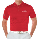 Callaway Opti Vent Red Polo-Official Logo - Stacked