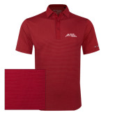 Columbia Red Omni Wick Sunday Golf Polo-Official Logo - Stacked