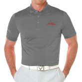 Callaway Opti Vent Steel Grey Polo-Official Logo - Stacked