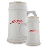 Full Color Decorative Ceramic Mug 22oz-Official Logo - Stacked