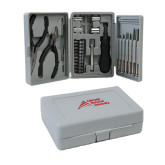 Compact 26 Piece Deluxe Tool Kit-Official Logo - Stacked