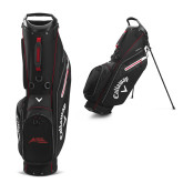 Callaway Hyper Lite 3 Black Stand Bag-Official Logo - Stacked