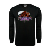 Black Long Sleeve TShirt-CCNY Beavers