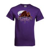Purple T Shirt-CCNY Beavers