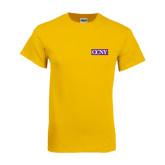 Gold T Shirt-CCNY