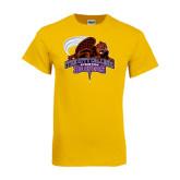 Gold T Shirt-CCNY Beavers