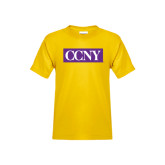 Youth Gold T Shirt-CCNY