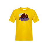 Youth Gold T Shirt-CCNY Beavers