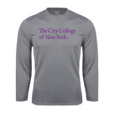 Syntrel Performance Steel Longsleeve Shirt-The City College of New York