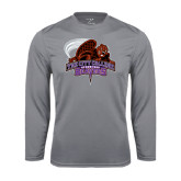 Performance Steel Longsleeve Shirt-CCNY Beavers