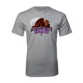 Grey T Shirt-CCNY Beavers