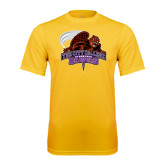 Syntrel Performance Gold Tee-CCNY Beavers