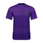 Performance Purple Tee-CCNY