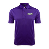 Purple Dry Mesh Polo-Official Logo