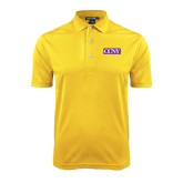 Gold Dry Mesh Polo-CCNY