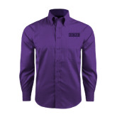 Red House Purple Long Sleeve Shirt-CCNY