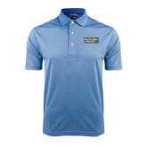 Light Blue Dry Mesh Polo-Official Logo