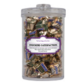 Snickers Satisfaction Large Round Canister-CCNY Wordmark