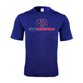 Performance Royal Heather Contender Tee-CUNY Basketball