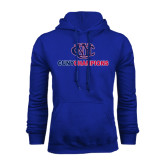 CUNY Athletics Royal Fleece Hoodie-CUNY Champions