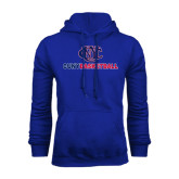 CUNY Athletics Royal Fleece Hoodie-CUNY Basketball