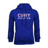CUNY Athletics Royal Fleece Hoodie-CUNY Athletics
